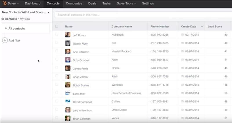 HubSpot+CRM+Demo+Screenshot